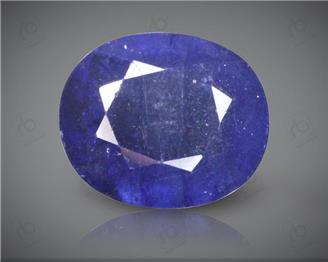 Blue Sapphire Heated & Treated Natural Certified 4.04 carats -96643