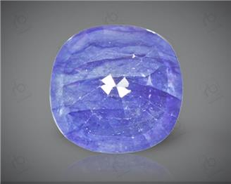 Blue Sapphire Heated & Treated Natural Certified 7.03 carats -96655