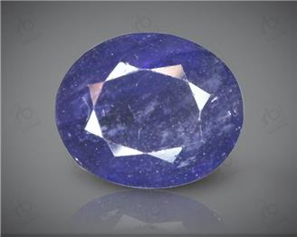 Blue Sapphire Heated & Treated Natural Certified 5.23 CTS ( 16785 )