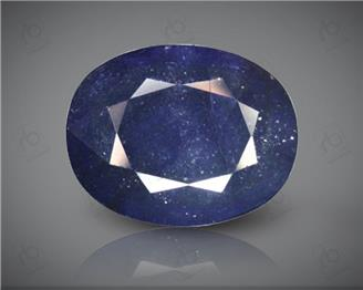 Blue Sapphire Heated & Treated Natural Certified 6.92 CTS ( 16787 )
