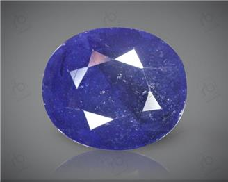 Blue Sapphire Heated & Treated Natural Certified 6.11 CTS ( 16795 )