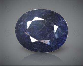 Blue Sapphire Heated & Treated Natural Certified 5.58 CTS ( 16809 )