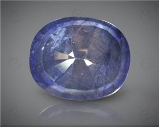 Blue Sapphire Heated & Treated Natural Certified 9.74 CTS ( 16826 )