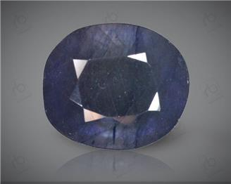 Blue Sapphire Heated & Treated Natural Certified 8.98 CTS ( 16866 )