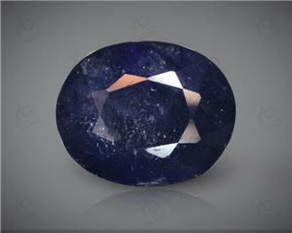 Blue Sapphire Heated & Treated Natural Certified 4.33 carats -96592