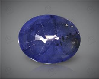 Blue Sapphire Heated & Treated Natural Certified 6.8 carats -96619