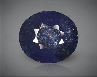 Blue Sapphire Heated & Treated Natural Certified 6.44 carats -96620