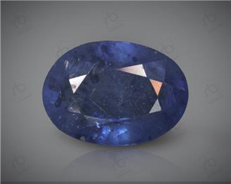 Blue Sapphire Heated & Treated Natural Certified 4.33 carats -96638