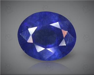 Blue Sapphire Heated & Treated Natural Certified 7.12 carats -96640
