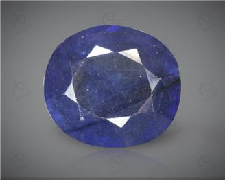 Blue Sapphire Heated & Treated Natural Certified 6.22 CTS ( 16784 )