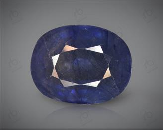 Blue Sapphire Heated & Treated Natural Certified 7.04 CTS ( 16804 )