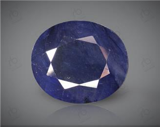 Blue Sapphire Heated & Treated Natural Certified 8.7 CTS ( 16807 )