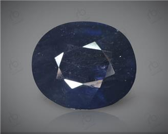 Blue Sapphire Heated & Treated Natural Certified 6.08 CTS ( 16825 )
