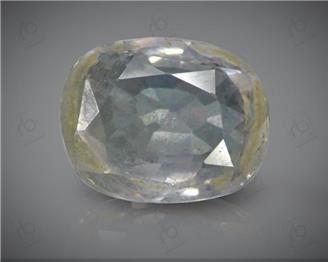 Yellow Sapphire Unheated & Untreated Natural Certified  5.31  CTS.  (  34599  DIN  )