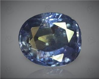 Natural Unheated and Untreated Certified Bi-Color Sapphire 3.44 CT. ( 85060 )