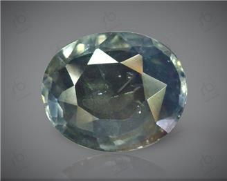 Natural Unheated and Untreated Certified Bi-Color Sapphire 3.17 CT. ( 85063 )