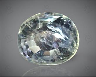 Natural Unheated and Untreated Certified Bi-Color Sapphire 3.59 CT. ( 85012 )