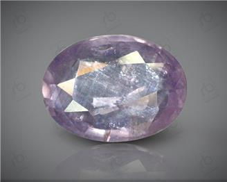 Natural Purple Sapphire / Khuni Neelam Certified 4.82 carats - DIN 85052