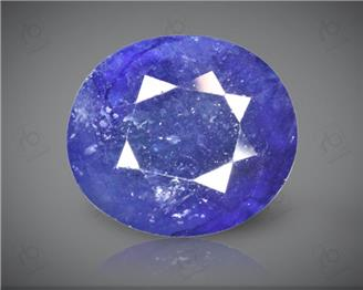 Blue Sapphire Heated & Treated Natural Certified 8.07CTS-1668