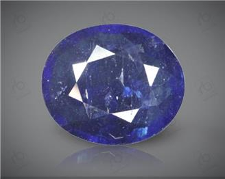 Blue Sapphire Heated & Treated Natural Certified 4.41 carats -96611