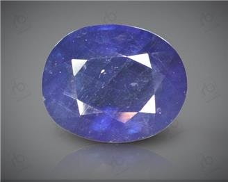 Blue Sapphire Heated & Treated Natural Certified 7.05 carats -96615