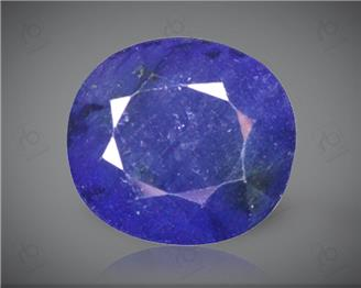 Blue Sapphire Heated & Treated Natural Certified 6.35 carats -96616
