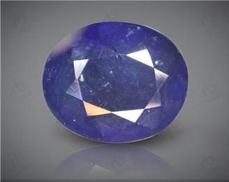 Blue Sapphire Heated & Treated Natural Certified 7.46 carats -96633