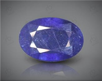 Blue Sapphire Heated & Treated Natural Certified 3.83 carats -96634