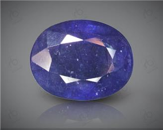 Blue Sapphire Heated & Treated Natural Certified 3.99 carats -96639