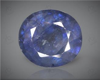 Blue Sapphire Heated & Treated Natural Certified 6.65 CTS ( 16841 )