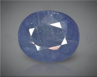 Blue Sapphire Heated & Treated Natural Certified 8.99 CTS ( 16842 )
