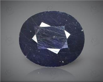 Blue Sapphire Heated & Treated Natural Certified 6.68 CTS-16913