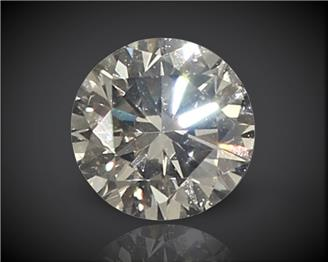 Diamond Stone Natural Certified ( Heera) VVS-2 N  0.10 cts. ( 1619 )