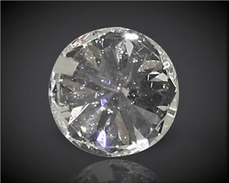 Diamond Stone Natural Certified ( Heera) SI-2 J 0.1CTS-2823